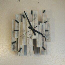 Часы настенные - Деревянные часы, 0