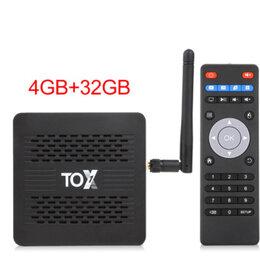 ТВ-приставки и медиаплееры - Андроид TV приставка TOX1 Amlogic S905X3 4/32, 0