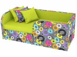 Кроватки - Кровать мягкая Марти с выдвижным ящиком., 0