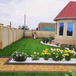 Газоны - рулонный и посевной газон, 0