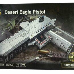 Конструкторы - Конструктор пистолет Desert Eagle 670006, 0