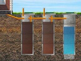 Септики - Переливные септики из бетонных колец под ключ, 0