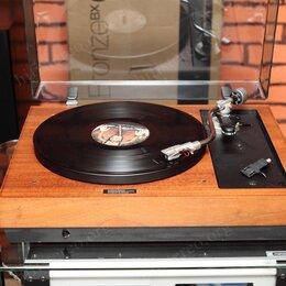 Проигрыватели виниловых дисков - CJ Walker CJ 55 с тонармом Linn Basik LV V, 0
