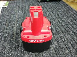 Шуруповерты - Аккумуляторы шуруповёрта Bosch Ni-Cd 2A, 0