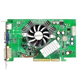 Видеокарты - Видеокарта AGP 128Mb Fx6600 WinFast , 0