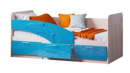 """Кровати - Детская кровать """"Дельфин"""" МДФ 1,8м, 0"""