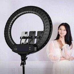 Фотоаппараты - Кольцевая светодиодная профессиональная лампа - Диаметр 54 см. RL-21 , 0