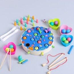"Развивающие игрушки - Развивающий набор рыбалка ""Супер набор"" 18х18х3,5 см   4776509   , 0"