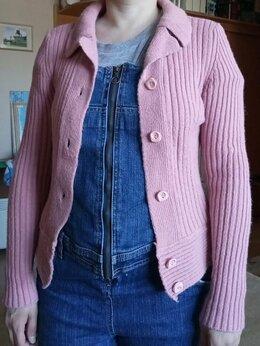 Блузки и кофточки - Кофта женская розовая, 0