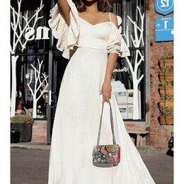 Платья - Новое летнее длинное платье 42-44 размеры, 0