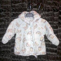 Куртки и пуховики - Детская плюшевая куртка с капюшоном Barkito, 0