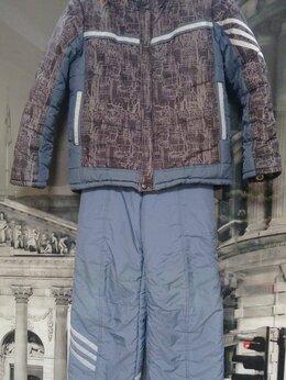 Комплекты верхней одежды - Зимний комплект для мальчика, р.128, 0
