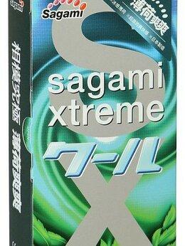 Презервативы - Презервативы Sagami Xtreme Mint с ароматом мяты…, 0