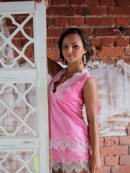Домашняя одежда - Пижама дизайнерская шелк, 0
