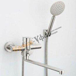 Смесители - Смеситель для ванны FRAP 2248 матовый, 0