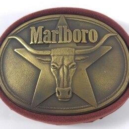 Ремни и пояса - Пряжка для ремня Marlboro Vintage 1987, 0