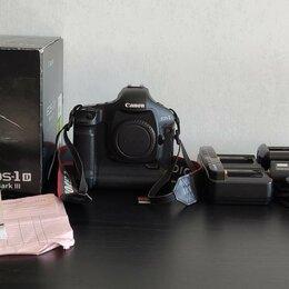 Фотоаппараты - Фотоаппарат Canon Mark iii (новый аккумулятор), 0