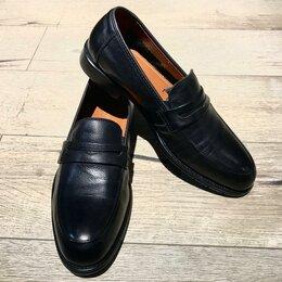 Туфли - Кожаные лоферы, 0