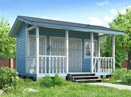 Готовые строения - Щитовой дом с хозблоком 5х3,5 м «Дачный», 0
