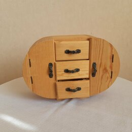 Рукоделие, поделки и сопутствующие товары - Деревянная заготовка шкатулки, 0
