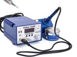 Электрические паяльники - паяльная станция YIHUA 939D+,без фена, 0