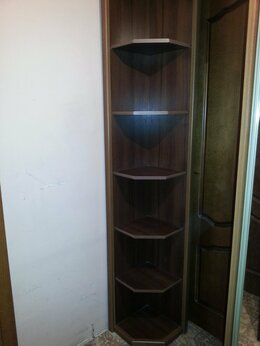 Стеллажи и этажерки - Шкаф угловой, 0