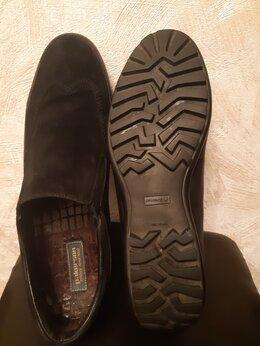 Туфли - Мужские туфли,PAKERSON, размер 46, темно-синий…, 0