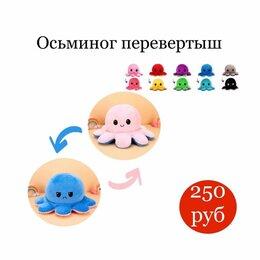 Мягкие игрушки - Переворачивающийся осьминог игрушка, 0