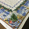 Павлопосадская скатерть лен по цене 1500₽ - Скатерти и салфетки, фото 0
