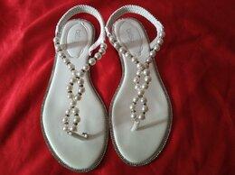 Сандалии - Шлепки, сандалии, босоножки нарядные женские, 0