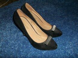 Туфли - Туфли черные, 36 размера, 0