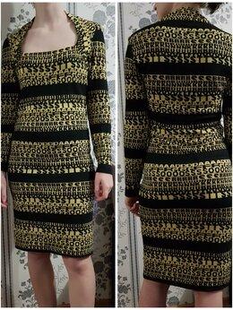 Платья - Платье вискоза (ткань Dolce&Gabbana) размер 44 S, 0