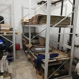 Мебель для учреждений - Стеллаж металлический из 2-х секций  (1800+1800), 0