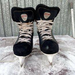 Коньки - Коньки мужские хоккейные, размер 42, 0