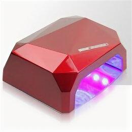 Лампы для сушки -  Лампа гибрид UV и LED для маникюра гель-лаков (шеллак) Мощность: 36 Вт, 0