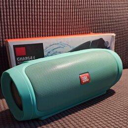 Портативная акустика - Колонка JBL charge 4 Бирюза. Ещё больше функций. К, 0