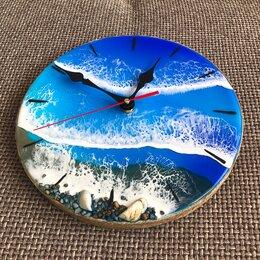 Часы настенные - Настенные часы ручной работы из эпоксидной смолы, 0