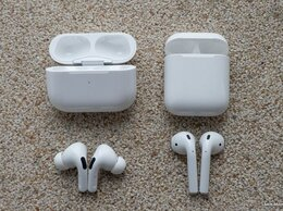 Наушники и Bluetooth-гарнитуры - наушники airpods 2, 0
