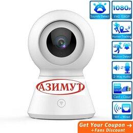 Видеокамеры - YI Home Camera Видеонаблюдение через Wi-Fi 360гр, 0