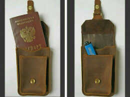 Дорожные аксессуары - сумка на пояс, сумка для документов, 0