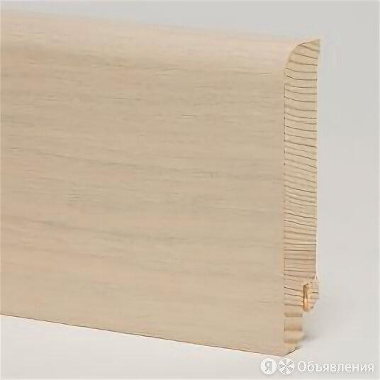 Плинтус деревянный PEDROSS Дуб Арктика 80 х 18 мм по цене 558₽ - Плинтусы, пороги и комплектующие, фото 0