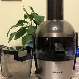 Соковыжималки и соковарки - Соковыжималка электрическая Philips HR1864, 0