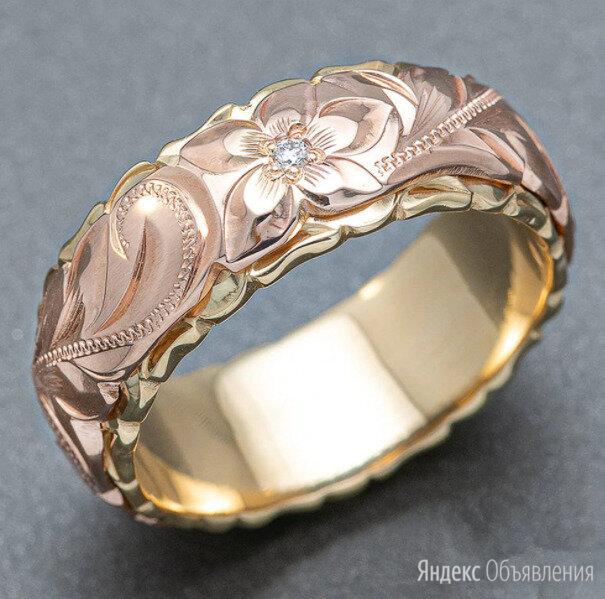 Женские кольца с резным дизайном по цене 400₽ - Кольца и перстни, фото 0