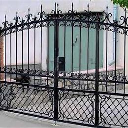Заборы, ворота и элементы - Кованые ворота и калитки, 0