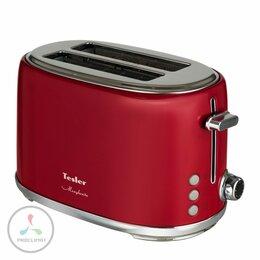 Тостеры - Тостер TESLER TT-255 RED, 0