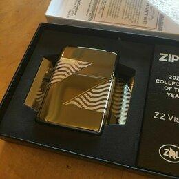 """Пепельницы и зажигалки - Zippo armor, коллекционная """"Z"""" темный лед. 2020, 0"""