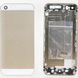 Корпусные детали - Корпус iPhone 5S золото, 0