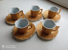 Сервизы и наборы - Новый сервиз кофейный изящный фарфоровый, 0