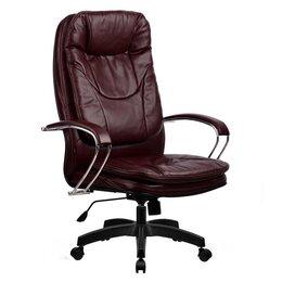 Компьютерные кресла - Кресло руководителя Metta LK-11 (Бордовый 722), 0
