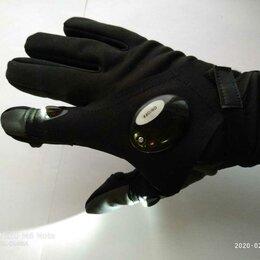 Одежда и обувь - Перчатки рыбака Премиум тёплые с подсветкой + Лигрипп в подарок, 0